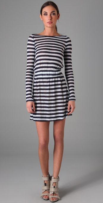 A.L.C. Striped Kate Dress