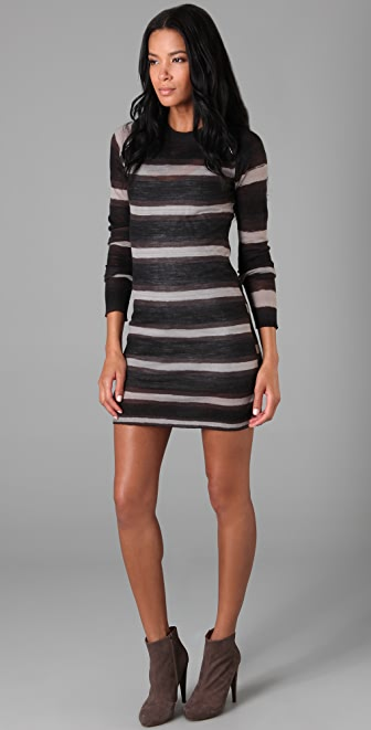 A.L.C. Hook & Eye Sweater Dress