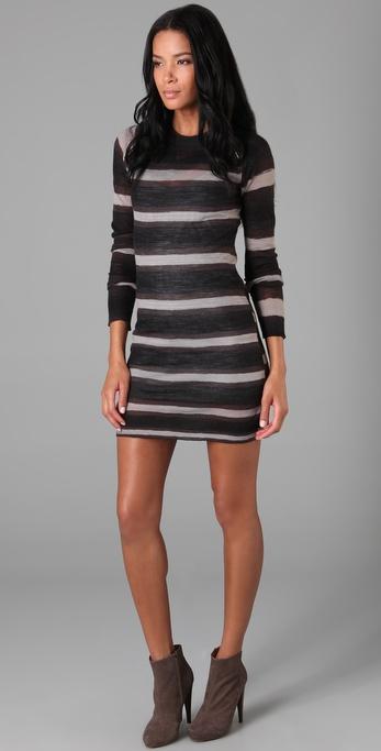 A.L.C. Hook & Eye Sweater Dress