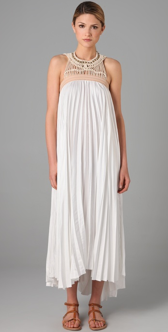 A.L.C. Macrame Long Dress