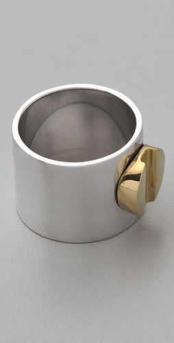 A.L.C. Brass Cigar Band Ring