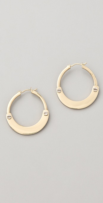 A.L.C. Handcuff Earrings
