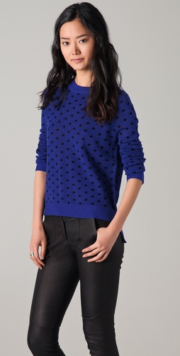 A.L.C. Dot School Girl Sweater