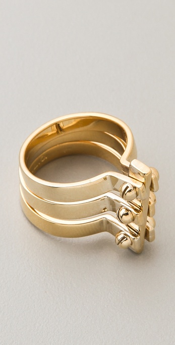 A.L.C. Three Section Handcuff Ring