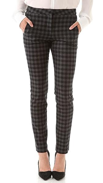 A.L.C. Checkered Mick Pants