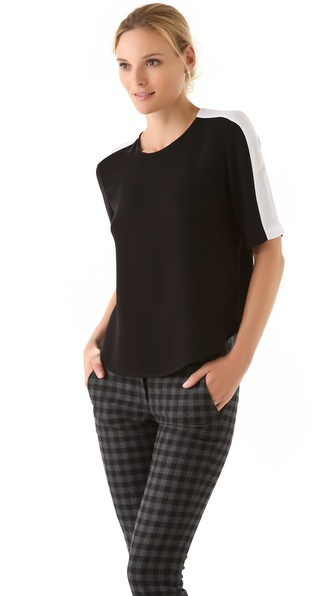 A.L.C. Stills Short Sleeve Top