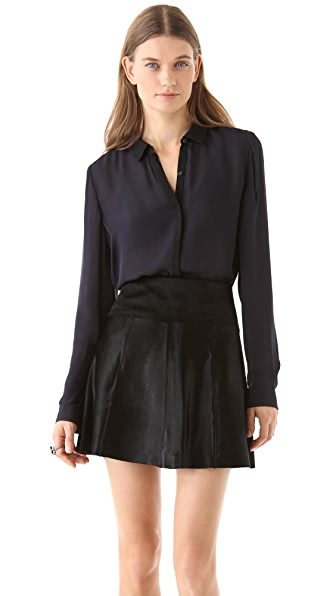 A.L.C. Gillian Silk Blouse