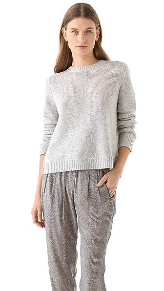 A.L.C. Open Back Sweater