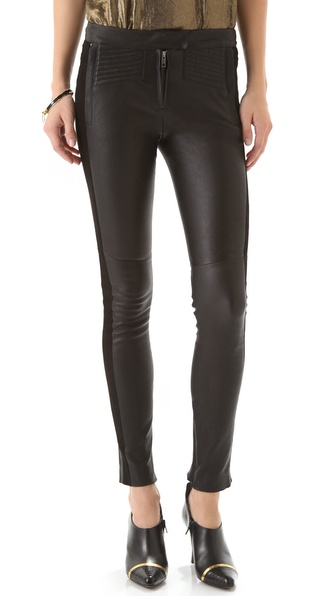 A.L.C. Hendon Leather Pants