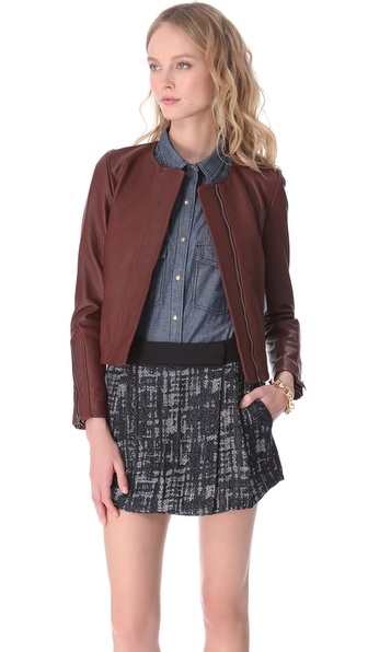 A.L.C. Port Leather Jacket