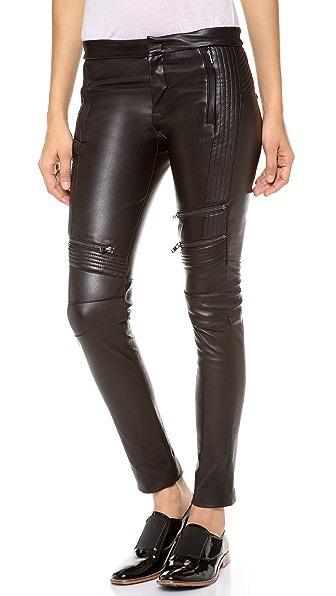 A.L.C. Cannova Moto Leather Pants
