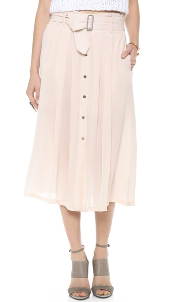 A.L.C. Mcdermott Skirt - Blush at Shopbop / East Dane