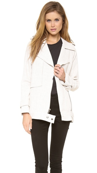A.L.C. Kral Jacket - White at Shopbop / East Dane