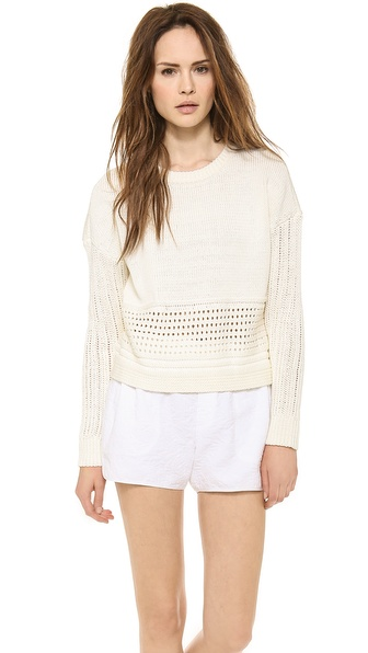 A.L.C. Beck Sweater - Natural at Shopbop / East Dane
