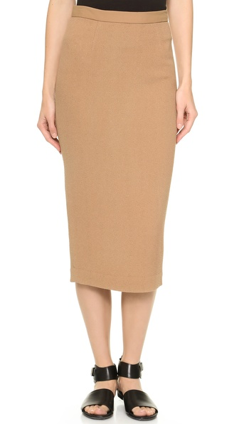 A.L.C. Thea Skirt - Camel at Shopbop / East Dane