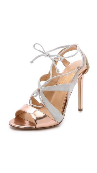 Alejandro Ingelmo Franca Lace Up Sandals