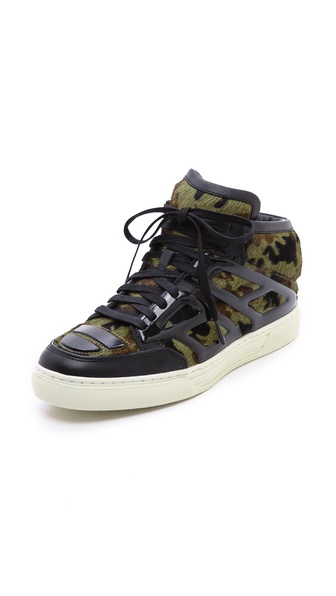 Alejandro Ingelmo Tron Haircalf Sneakers - Camo Haircalf at Shopbop / East Dane