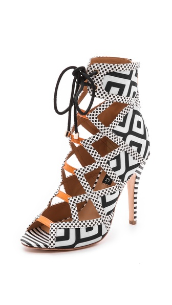 Alejandra G Wanda Lace Up Sandals