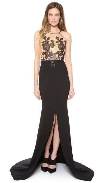 Alex Perry Manon Bodice Gown