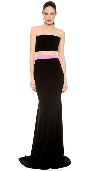 Alex Perry Maxine Strapless Gown