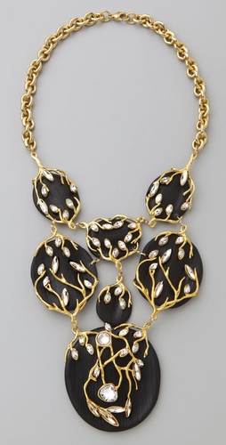 Alexis Bittar Ivy Bib Necklace