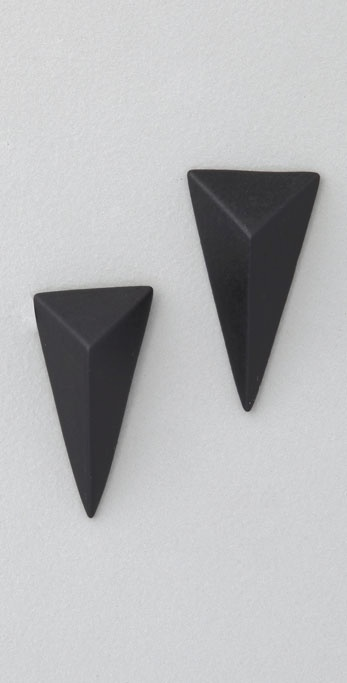 Alexis Bittar Pyramid Earrings