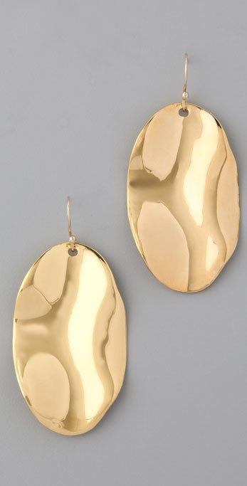 Alexis Bittar Wavy Oval Earrings
