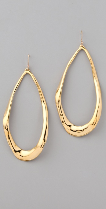 Alexis Bittar Liquid Large Tear Link Earrings