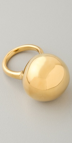 Alexis Bittar Liquid Gold Sphere Ring