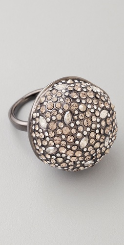 Alexis Bittar Crystal Sphere Ring