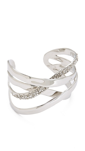 Alexis Bittar Bel Air Druzy Ribbon Cuff