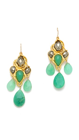 Alexis Bittar Siyabona Chandelier Earrings