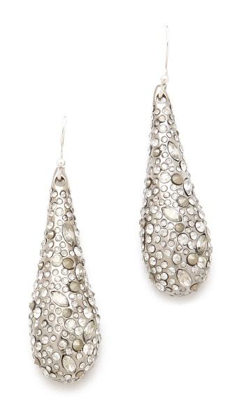 Alexis Bittar Crystal Tear Earrings