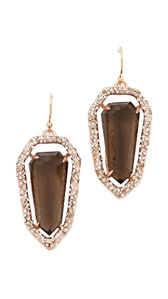 Alexis Bittar Crystal Shield Earrings