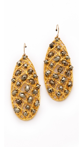 Alexis Bittar Siyabona Woven Earrings