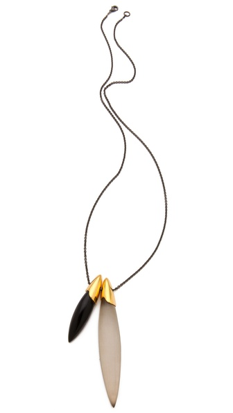 Alexis Bittar Colorblock Pendant Necklace