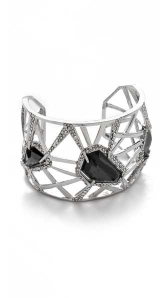 Alexis Bittar Delano Stone Deco Cuff