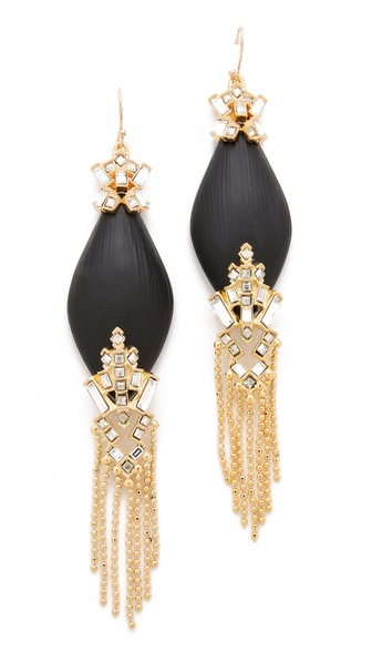 Alexis Bittar Teatro Fringed Earrings