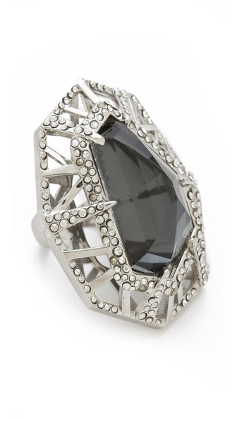 Alexis Bittar Delano Large Deco Ring
