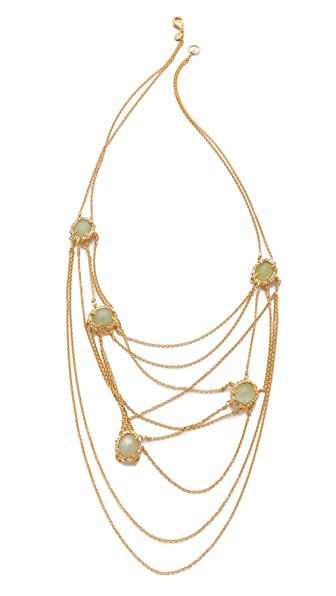Alexis Bittar Siyabona Draping Necklace