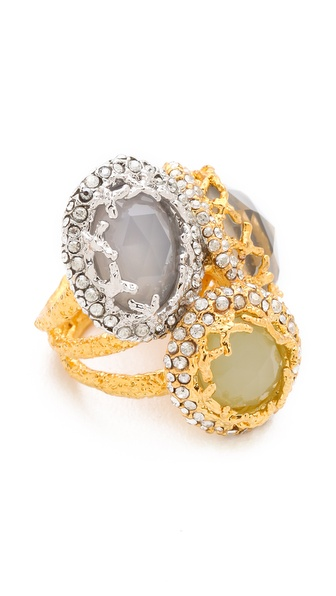 Alexis Bittar Siyabona Cerulean Ring