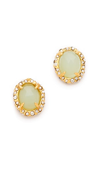Alexis Bittar Siyabona Chalcedony Earrings