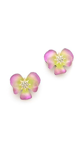 Alexis Bittar Ophelia Pansy Post Earrings