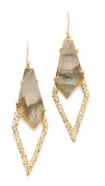 Alexis Bittar New Wave Large Kite Earrings
