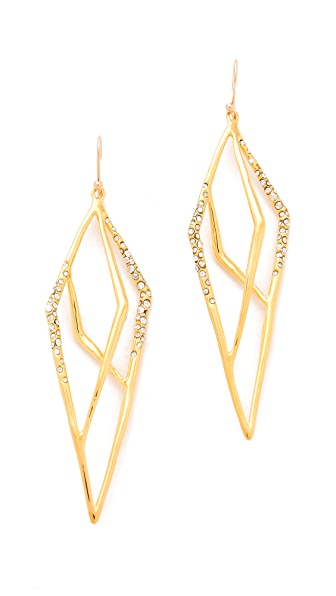 Alexis Bittar New Wave Layered Kite Earrings