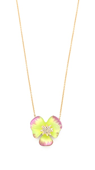 Alexis Bittar Ophelia Pansy Necklace