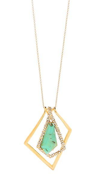 Alexis Bittar New Wave Long Pendant Necklace