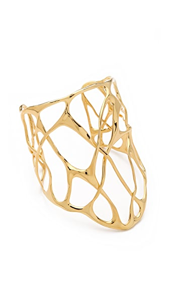 Alexis Bittar Liquid Large Interlaced Cuff