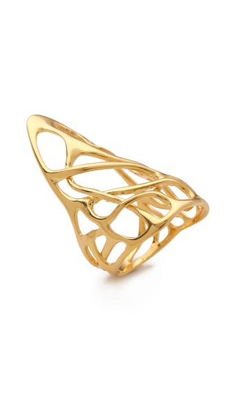 Alexis Bittar Liquid Draping Interlaced Ring