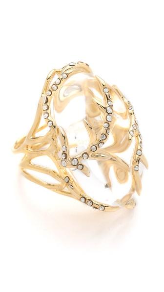 Alexis Bittar Ophelia Vine Encased Ring